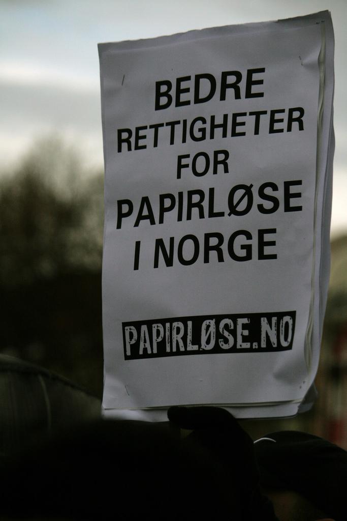 Bedre rettigheter for papirløse