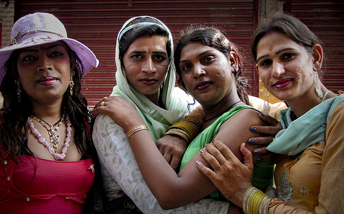 Hijras in Laxman Jhula
