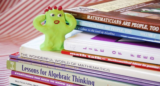 Afraid of math