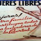 Poster mujeres libres Guerra Civil