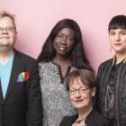 Schyman og FIs tre toppkandidater til Sveriges Riksdag