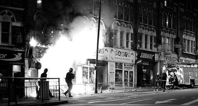 London riots 2011.