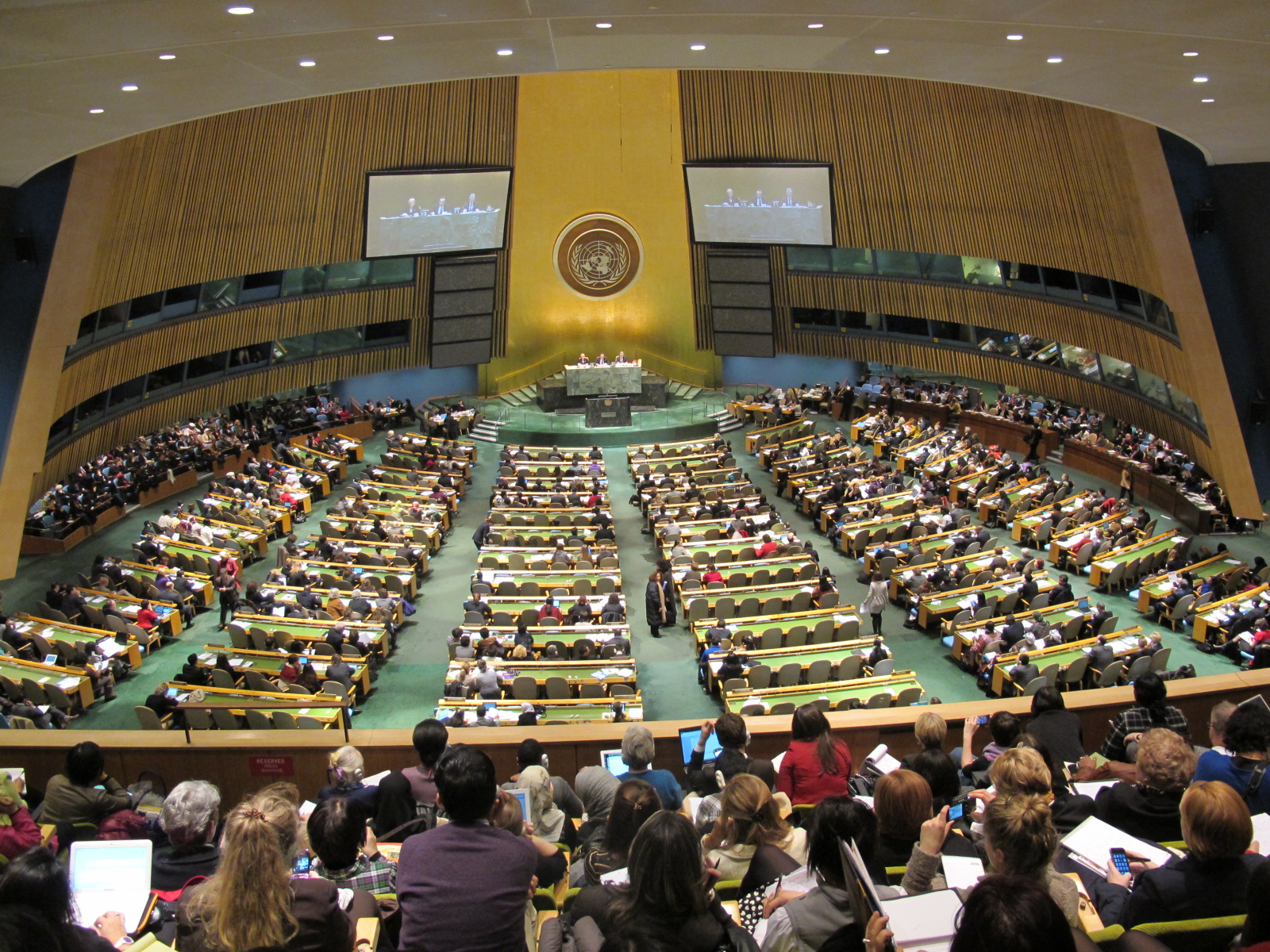 Gender perspectives at UN