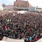 Stappfullt på Youngstorget 8. mars 2014