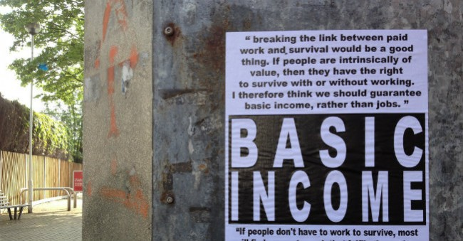 Unconditional Basic Income, Russell Shaw Higgs, (CC BY-NC-SA 2.0)