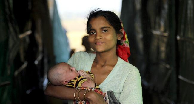 flyktningkvinne og barn2