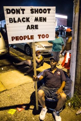 Protester Ferguson, MO