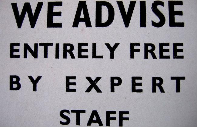 We advise