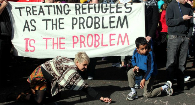 Treating Refugees as the problem is the problem, by Takver, (CC BY-SA 2.0)