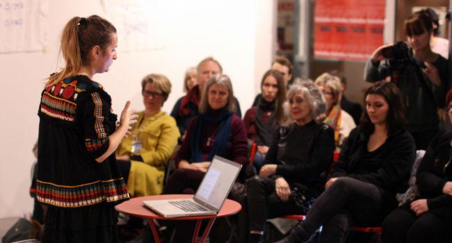 """Azra Halilovic fremfører """"muslimske kvinner i et demokratisk land"""""""