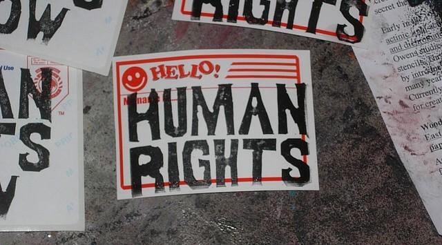 Hello, Human rights