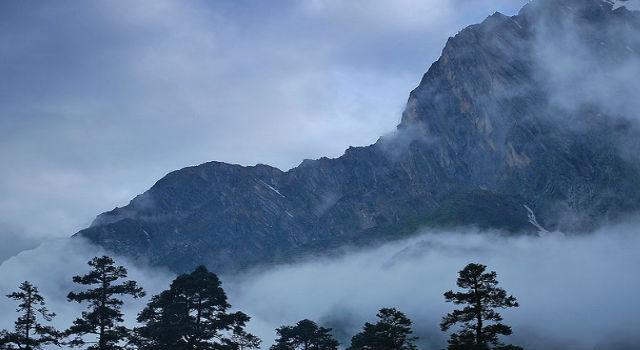 tåke fjell