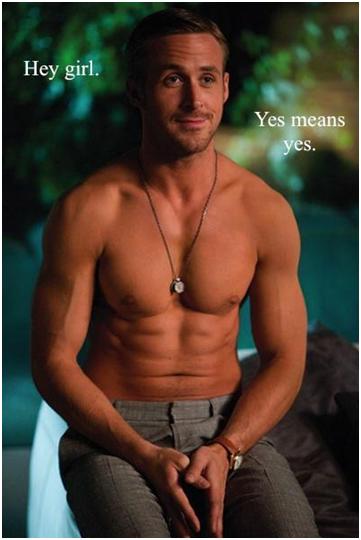For flere bilder av feminist-Ryan Gosling: http://feministryangosling.tumblr.com/p